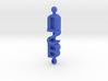 BSU Keychain 3d printed