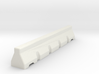 Concrete Road Block 6mm Scale 3d printed