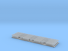 Monorail Straight Rail Gen 2 Set of 10 3d printed