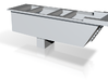 F-M Cinder Base - HO 3d printed