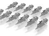 Vaygr Heavy Fighters x12 3d printed