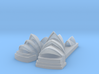 Sydney Opera Frosted 3d printed