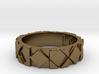 Futuristic Rhombus Ring Size 5 3d printed