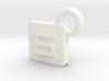 SarcaCraft Keychain - Medium 3d printed