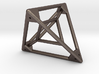 Tetrahedron with Tetrahedron inside 3d printed
