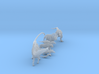 Mini Prehistoric Collection 3 3d printed Miniature dinosaurs by ©2012-2015 RareBreed