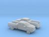 1/160 2X 2013 Dodge Ram Crew Service Truck 3d printed