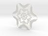 Snowflakes Series II: No. 7 3d printed