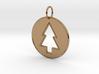 Gravity Falls Pine Tree Pendant 3d printed