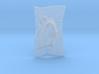 Shroud shape penholder 006 3d printed