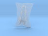 Shroud shape penholder 007 3d printed