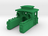 Steam Locomotive T3 Scale N Part 001 3d printed