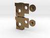 GP35 Semi-Scale Buffer Plate/ Draft Gear Box 3d printed