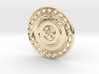 OM Particle Coin 3d printed