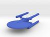 1/2500 - Tessera Explorer Cruiser (solid nacelles) 3d printed