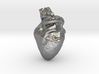 Real Heart Pendant 3d printed