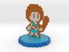 8-Bit Mako Mankanshoku 3d printed