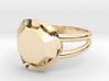 Size 9 Diamond Ring 3d printed