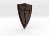Cross Shield Pendant 3d printed