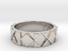 Futuristic Rhombus Ring Size 8 3d printed