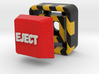 Full Color Button of EJECT 3d printed