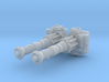 TURBOLASER TOWER CANNONS 1/72  3d printed