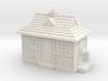 N Gauge - Cabmen's Shelter  3d printed