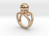 Black Pearl Ring 23 - Italian Size 23 3d printed