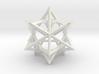 Tetrahedron 4 Compound 3d printed