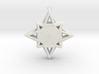 Wireframe Star Ornament 3d printed