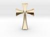 Germanic Cross Pendant, 45mm Tall 3d printed