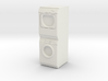 1:48 Stacked Miele Washer Dryer 3d printed