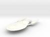 """Valcel Class BattleCruiser   5.6"""" 3d printed"""