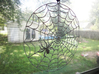 Spiderweb Window Hang 3d printed