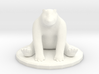 Sitting Bear Miniature  3d printed