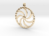 Borjgali Sun Tree Jewelry symbol Pendant. 3d printed