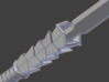 Pinecone Footsoldier's Spear 3d printed