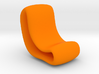 Flowcurve Chair 3d printed