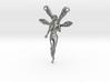Fairy Pendant - 2 inch (5 cm). 3d printed
