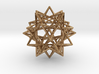 Expanded Icosahedron 3d printed