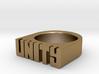 13.3mm Replica Rick James 'Unity' Ring 3d printed