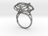 FLOWER OF LIFE Ring Nº2 3d printed