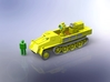 s. Wehrmachtsschlepper w. Uhu Searchlight 1/285 3d printed