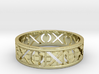 Size 7 Xoxo Ring A 3d printed