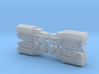 s. Wehrmachtsschlepper w. Plank Bed 1/285 3d printed