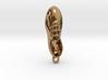 Tap Shoe Necklace Pendant 3d printed