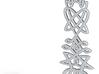 Nordic Rope Pendant 3d printed