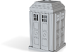 Tardis 02 HO Scale Detail Prints 3d printed