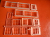 Chard Junction Signal Box Window Assembly 3d printed