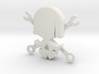 NEW! Skull & Wrench NUT, for M6 x1 Screw 3d printed